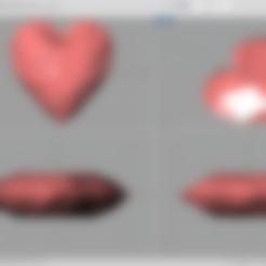 Impresiones 3D gratis corazón.., serkantuluk