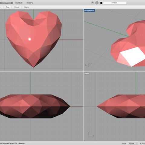 Descargar archivo 3D gratis corazón.., serkantuluk