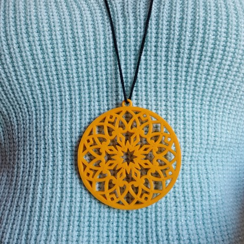 Download 3D printing models pendent, solunkejagruti