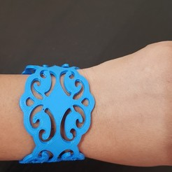 3D printer file Bracelet, solunkejagruti