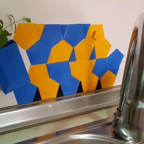 20180808_120801.jpg Télécharger fichier STL gratuit Contre-éclaboussures pour évier de cuisine • Modèle pour impression 3D, solunkejagruti