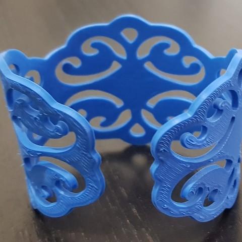 20180416_195356.jpg Download STL file Bracelet • 3D printing model, solunkejagruti