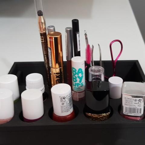 Free 3d printer files Makeup organizer, solunkejagruti