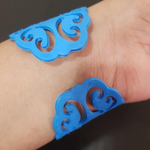 20180416_195047.jpg Download STL file Bracelet • 3D printing model, solunkejagruti