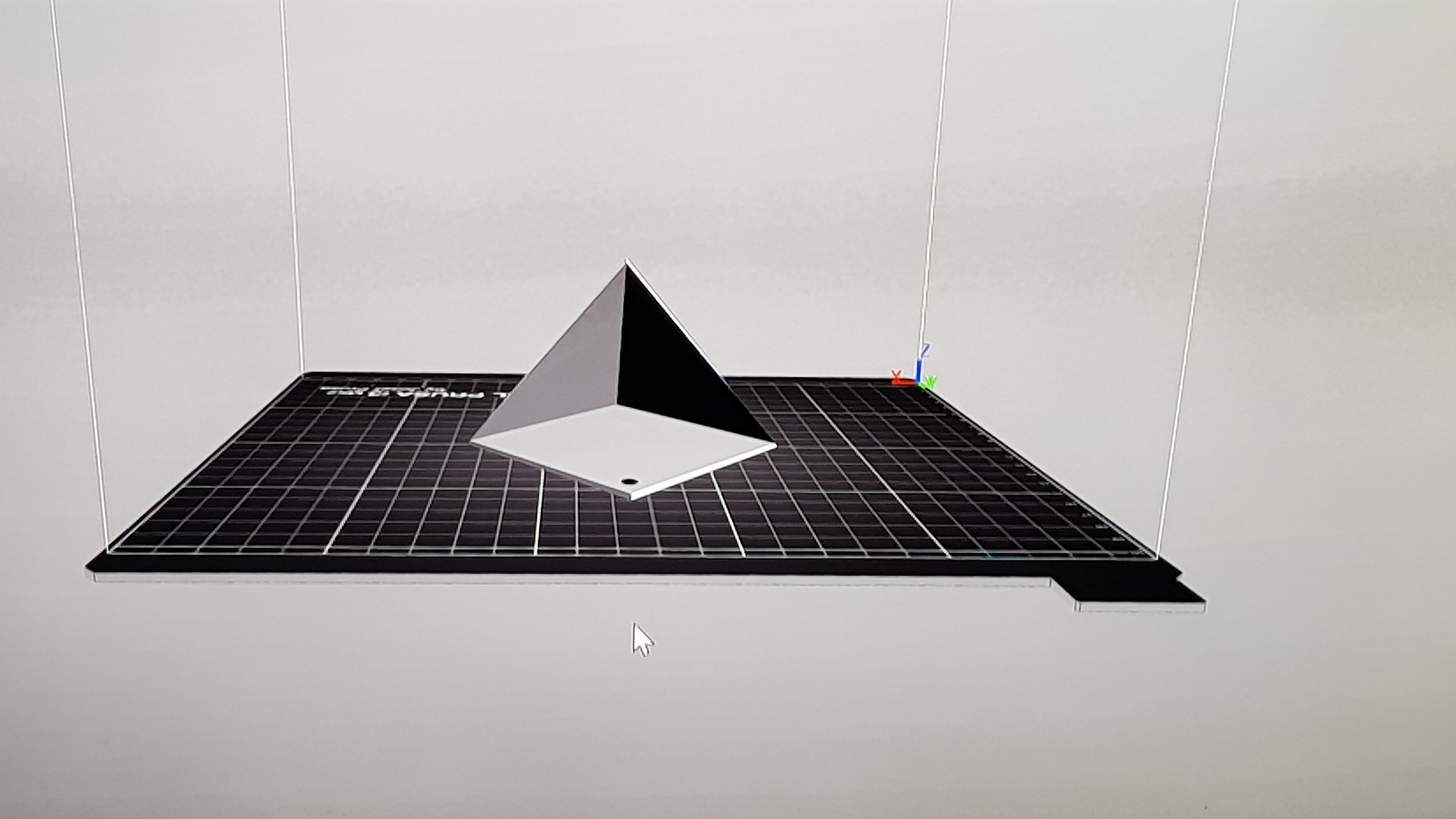 20180208_193654.jpg Download free STL file wall hanging triangle planter • 3D printing template, solunkejagruti