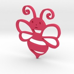 Free 3d printer designs Honey bee , solunkejagruti