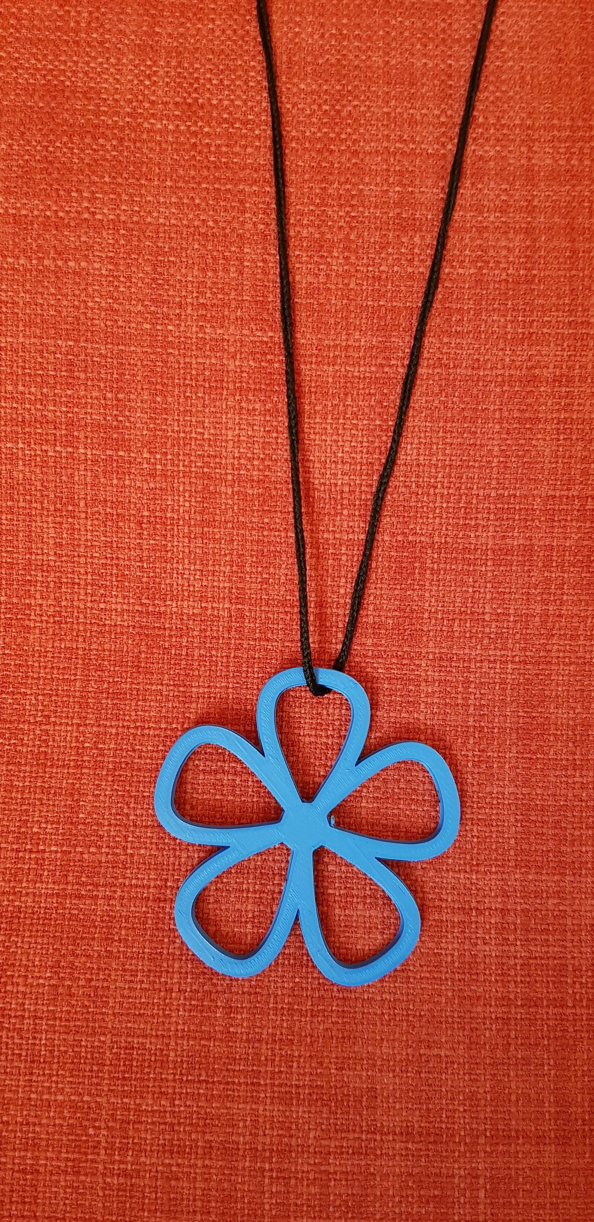 20180613_120654.jpg Télécharger fichier STL Collier à motif de fleurs • Design imprimable en 3D, solunkejagruti