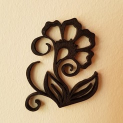 Free Wall decoration 3D printer file, solunkejagruti