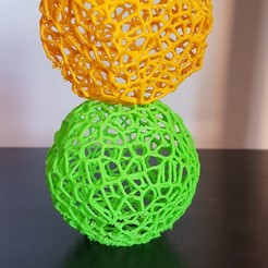 Free 3d printer designs voronoi pot, solunkejagruti