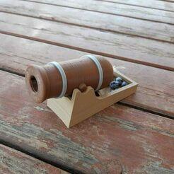 20200430_143600.jpg Download STL file Cannon - Fires little paper balls!!!! • 3D printable model, Eyf_design