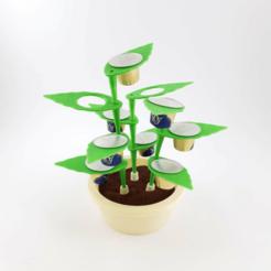 Untitled-1.png Download STL file Modular Coffee Capsule Holder • 3D printing design, Eyf_design