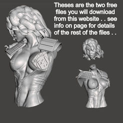 anderson free model1.jpg Download free STL file We are the Law- Judge Anderson Torso Free Model 5 – by SPARX • 3D printing template, SparxBM