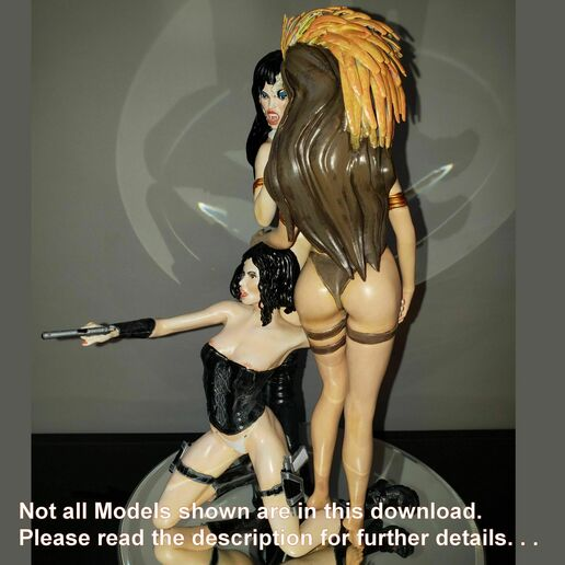 photo3.jpg Download STL file VAMPS 2 - PANDEMONIUM Model ONLY - by SPARX • 3D printing template, SparxBM