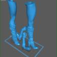 Download 3D print files Bombshell Pinups – 03 WonderWoman- by SPARX, wikd2011