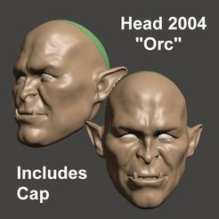 Image1.jpg Download STL file BJD 1/3 HEAD 2004 Friendly ORC - BY SPARX • 3D printable object, wikd2011