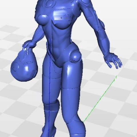 32d6eda559e7686a45b82426a298a87b_preview_featured.jpg Download free STL file Tina Stark aka Iron Girl - Bimbo Series Model 1 - BY SPARX • 3D printer model, wikd2011