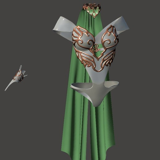 Download free STL file CosPlay - Female Armour 3 - BY SPARX, wikd2011