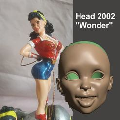 Descargar diseños 3D BJD 1/3 75MM HEAD 2002 WW - POR SPARX, wikd2011