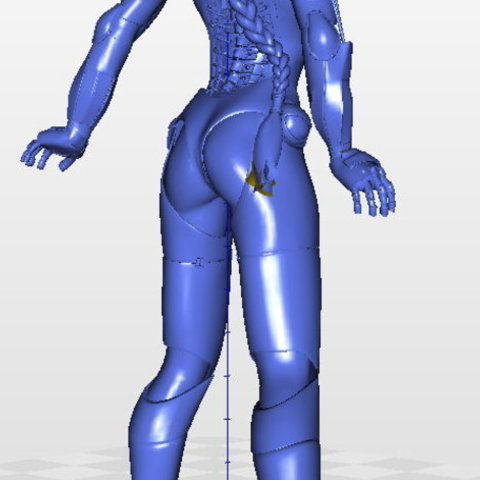 f0ea8047d24379dfaf9e8cc06fdf5b08_preview_featured.jpg Download free STL file Tina Stark aka Iron Girl - Bimbo Series Model 1 - BY SPARX • 3D printer model, wikd2011