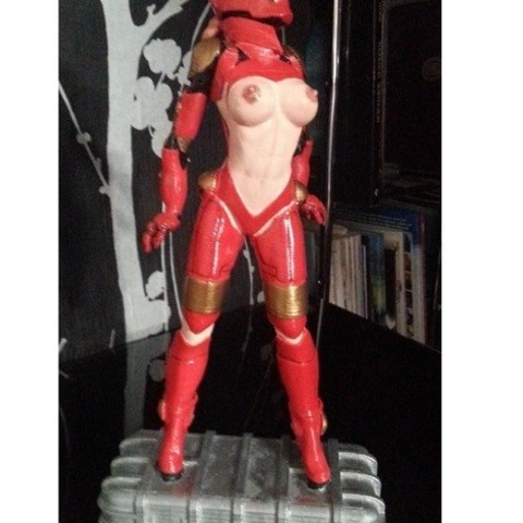 86f080e3475b78a392f9941ce54678fa_preview_featured.jpg Download free STL file Tina Stark aka Iron Girl - Bimbo Series Model 1 - BY SPARX • 3D printer model, wikd2011
