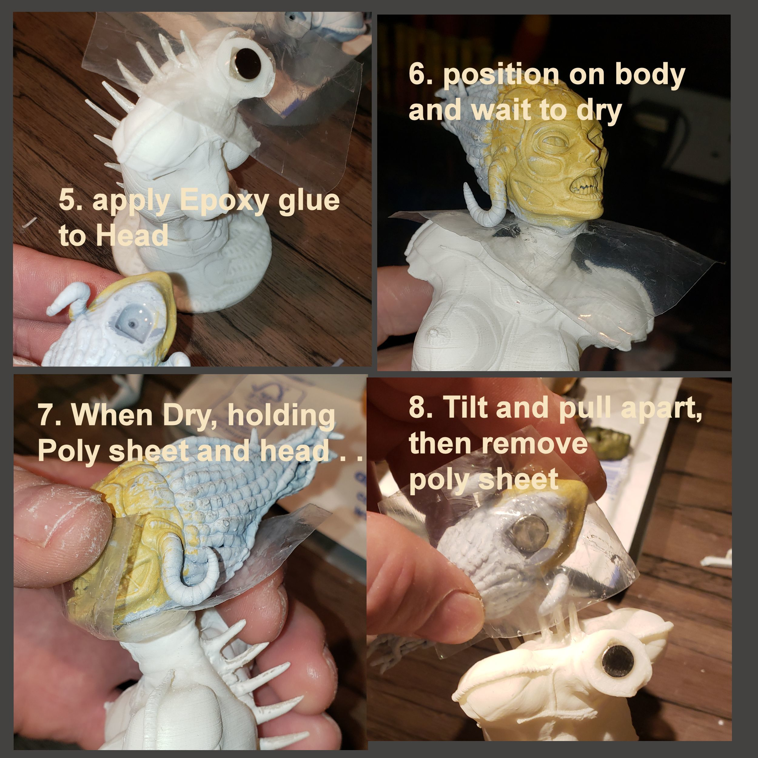 instruct2.jpg Download STL file Alien Girl - SPECIES Part 1- by SPARX • 3D printable object, wikd2011