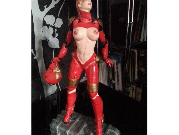 0f34d310e6a10fd6a514eeb46fe84e2e_preview_featured.jpg Download free STL file Tina Stark aka Iron Girl - Bimbo Series Model 1 - BY SPARX • 3D printer model, wikd2011