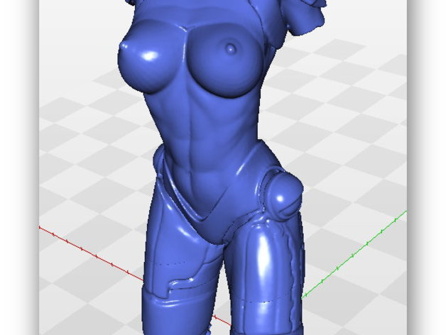 c3b791b501af9c6a071805a99d908c53_preview_featured.jpg Download free STL file Tina Stark aka Iron Girl - Bimbo Series Model 1 - BY SPARX • 3D printer model, wikd2011