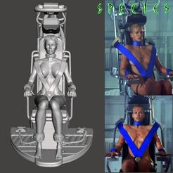 Image1.jpg Download STL file Alien Girl - SPECIES Part 2- by SPARX • Object to 3D print, wikd2011