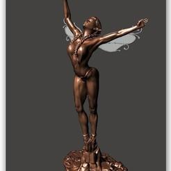 Imprimir en 3D gratis Ballet de elfos Serie 2 - por SPARX, wikd2011