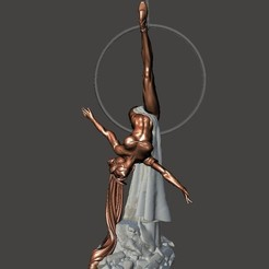 Free 3D printer model Elven Ballet Series 3 - by SPARX, wikd2011