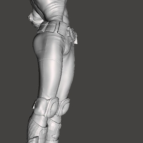 anderson concept art4.jpg Download free STL file We are the Law- Judge Anderson Torso Free Model 5 – by SPARX • 3D printing template, SparxBM