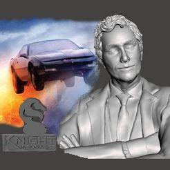 Descargar modelos 3D Knight Rider - Devon Miles - by SPARX, wikd2011