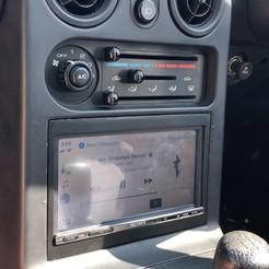 IMG_6760.JPG Download STL file Sony XAV-3005db Miata Eunos MX5 radio Bracket • 3D printable object, harrygardener