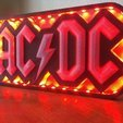 STL AC / DC led lamp # 3dprintRocks, irunea3dprint