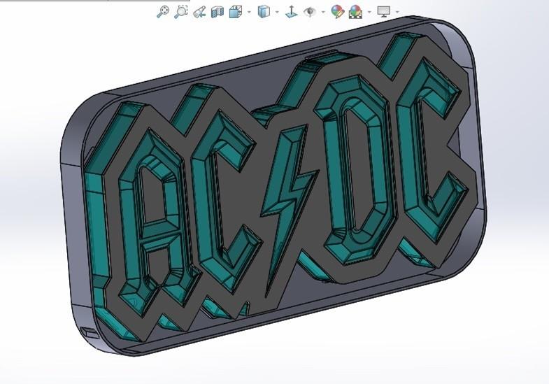 01-lamp.jpg Download STL file AC/DC led lamp #3dprintRocks • 3D printing model, irunea3dprint