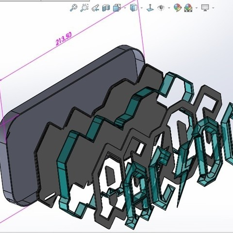 02-explos.jpg Download STL file AC/DC led lamp #3dprintRocks • 3D printing model, irunea3dprint