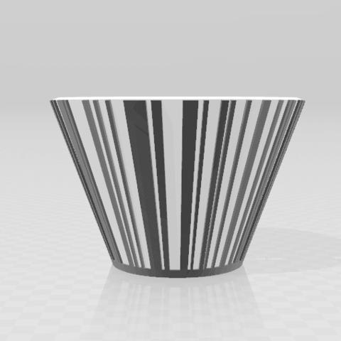 Schermafdruk 2018-02-12 09.28.12.png Download STL file Barcode Pot • 3D printing design, Cr4zy