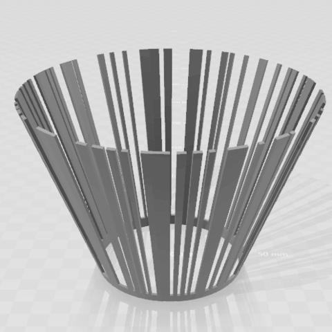 Schermafdruk 2018-02-12 09.25.59.png Download STL file Barcode Pot • 3D printing design, Cr4zy