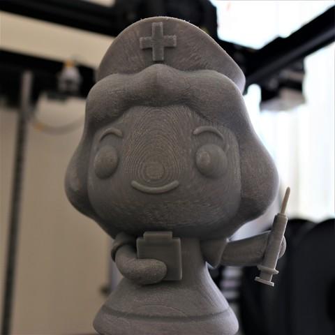 IMG_9756.JPG Télécharger fichier STL gratuit Petite infirmière • Plan à imprimer en 3D, jogawww
