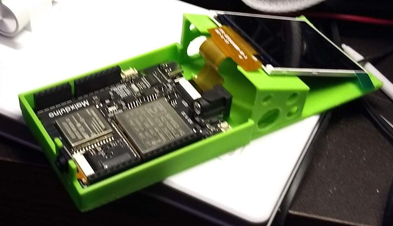 MaixDuinoCaseS.jpg Download free STL file Maixduino Case • Template to 3D print, lreinhart