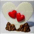 Download 3D printer designs HEART PUZZLE VALENTINES DAY, miracyalcin