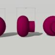 Télécharger modèle 3D gratuit BOUTON D'ARMOIRE IMPRIMABLE, miracyalcin