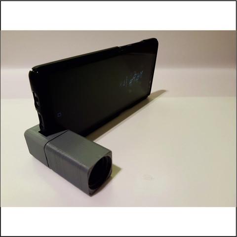 Descargar modelo 3D LLAVERO ALTAVOZ DE TELÉFONO, miracyalcin