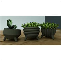 STL file FLOWER POT M2, miracyalcin