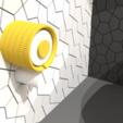 Download 3D printer designs ELEGANT PAPER DISPENSER M5, miracyalcin