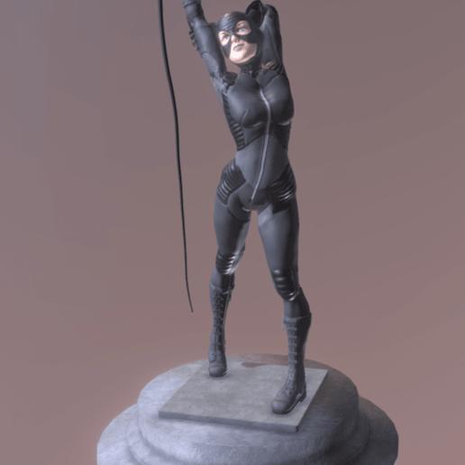 Download free 3D printer files catwoman, diegolopez266