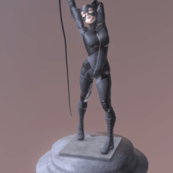 Download free 3D printer files catwoman, diegolopez266