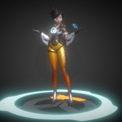 Download free 3D printing templates sexy tracer, diegolopez266