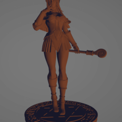 Download free 3D model sexy dark wizard, diegolopez266