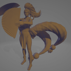 Download free 3D printing files Mai Shiranui, diegolopez266